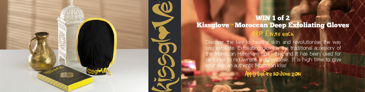 kissglove#1 | moroccan deep exfoliating glove