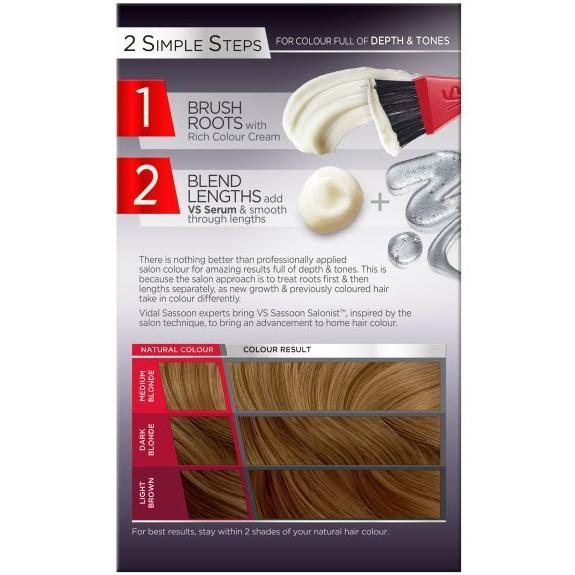 Vidal sassoon salonist 8 0 medium neutral blonde beauty for 2 blond salon reviews