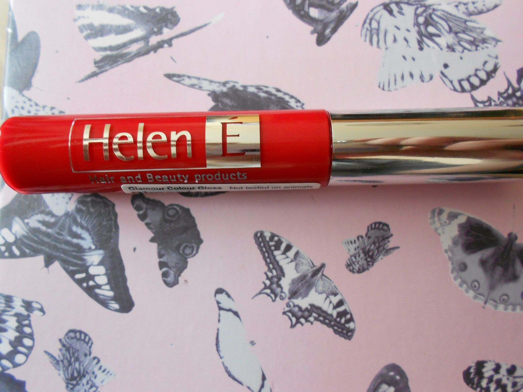 Helen É Cosmetics Colour Gloss Pimento Home Picture