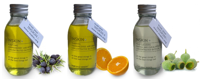 INSKIN Therapeutic Bath Oil Collection
