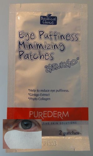 04 - Purederm Eye Puffiness Minimizing Patches GINKGO