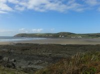 Croyde Bay from the South West Coast Path
