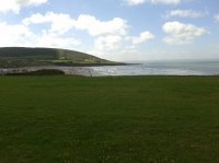 Croyde Bay viewed from the Tarka Trial