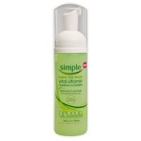 Simple Kind To Skin Vital Vitamin Foaming Cleanser is perfect for all skin types even the most sensitive