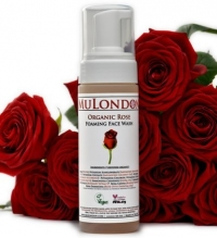 MuLondon Organic Rose Foaming Face Wash