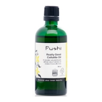 Fushi's Really Good Cellulite Oil tackles cellulite and improves circulation, lymphatic drainage and skin appearance
