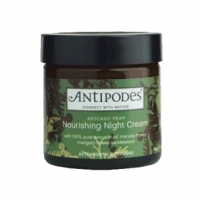 Avocado Pear Nourishing Night Cream by Antipodes restores life to skin overnight