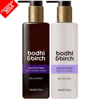 Bodhi & Birch Jasmine Falls Relaxing Duo Gift Set, RRP £36.00