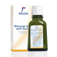 Weleda's Massage Balm with Arnica to relieve rheumatic and muscular pain and stiffness