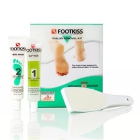 Footkiss Callus Removal Kit leaves your feet smooth, beautifully pedicured and looking gorgeous