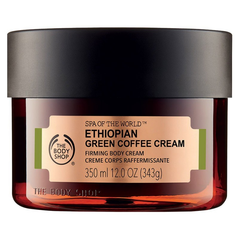 The Body Shop Spa Of The World Ethiopian Green Coffee Cream
