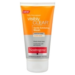 Neutrogena VISIBLY CLEAR Gentle exfoliating wash