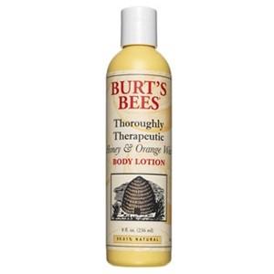 Burt's Bees Thoroughly Therapeutic Honey & Orange Wax Body Lotion