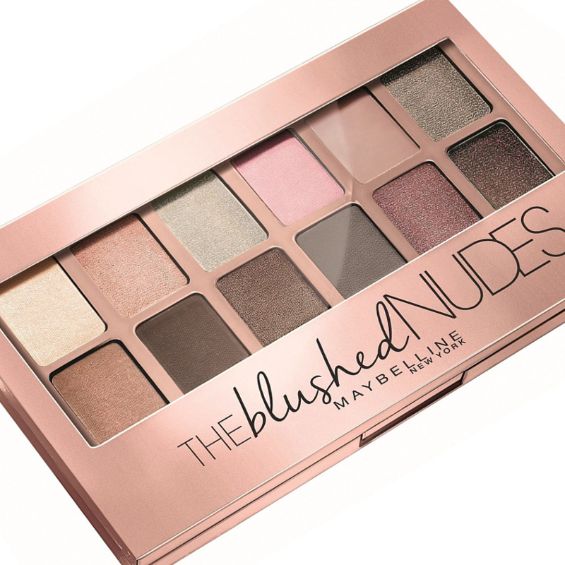 Maybelline The Blushed Nudes Eyeshadow Palette Review