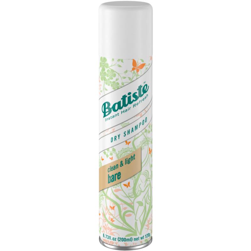 Batiste Dry Shampoo Natural Light Bare