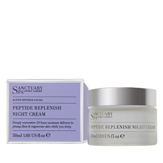 Sanctury Spa Peptide Replenish Night Cream