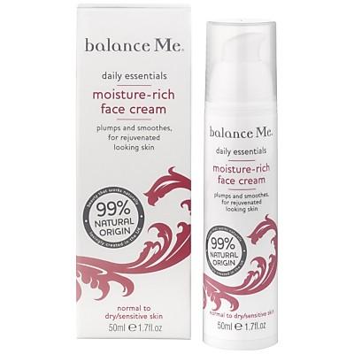 balance Me Moisture-Rich Face Cream