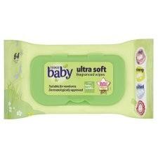Tesco Baby Ultrasoft Fragranced Wipes