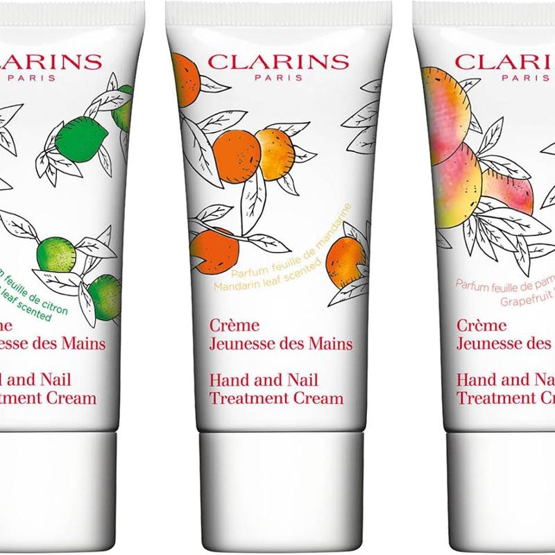 Clarins Hand And Nail Treatment Cream Trio
