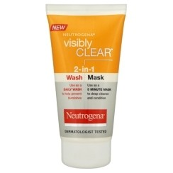 Neutrogena Visibly Clear  2-in-1 Wash and Mask