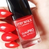Itsy Nails London DuraPRO Gel Effect Nail Polish Drop Red Gorgeous