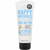 Happy Naturals Revitalising Foot Butter Sea Minerals & Ginger Root