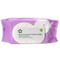 Superdrug cotton soft baby wipes lightly fragranced