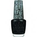 OPI Nail Varnish Black Shatter Top Coat Crackle Effect Nail Varnish