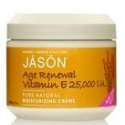 Jason Age Renewal Vitamin E 25,000 I.U. Pure Natural Moisturizing Crème