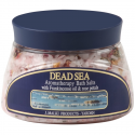Dead Sea Aromatherapy Bath Salts with Frankincense Oil & Rose Petals