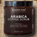 Majestic Pure Arabica Coffee Body Scrub