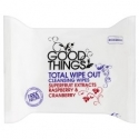 Good Things Cleansing Wipes Raspberry & Cranberry
