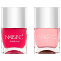 Nails Inc. Kensington Caviar Base Coat & Top Coat Duo
