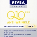 Nivea Visage Q10 Plus Anti-Wrinkle Age Spot Day Cream - SPF30