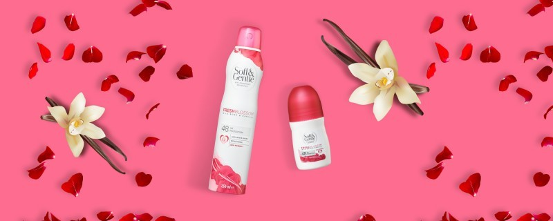 Soft & Gentle Wild Rose & Vanilla Antiperspirant Deodorant