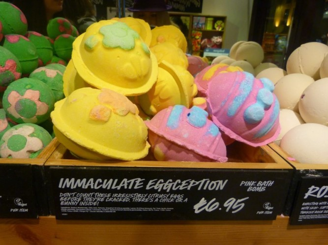 Lush Immaculate Eggception Yellow
