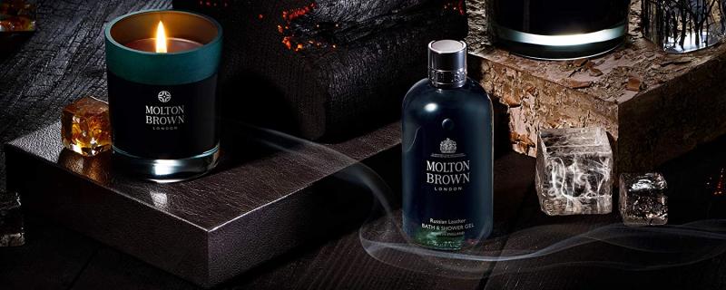 Molton Brown Russian Leather Bath & Shower Gel