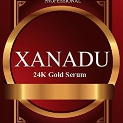 ISA Professional XANADU 24K Gold Vitamin C Serum Makeup Primer Hyaluronic Acid Vitamin E Rose Moisturizer and Foundation Primer