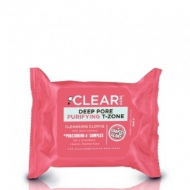 Soap & Glory Clear Here Deep Pore Purifying T-Zone Cleansing Cloths