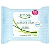 Simple Oil Cleansing Wipes