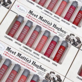 theBalm 'Meet Matte Hughes' 6 Mini Long-Lasting Liquid Lipsticks