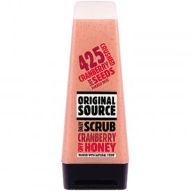 Original Source Cranberry and Honey Daily Scrub