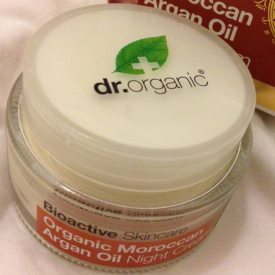 Dr Organic Moroccan Argan Oil Night Cream