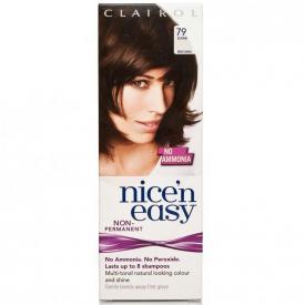 Clairol Nice'n'Easy Loving Care Non Permanent Hair Colour 79 Dark Brown