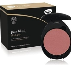 Green People Pure Blush Rose Pink 9g