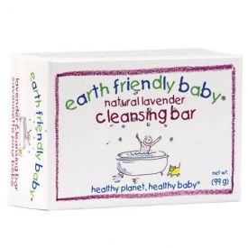 Earth Friendly Baby Natural Lavender Cleansing Bar