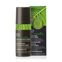 The Body Shop Nutriganics™ Smoothing Night Cream