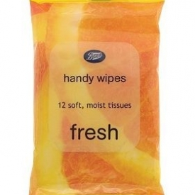 Boots Fresh Handy Wipes