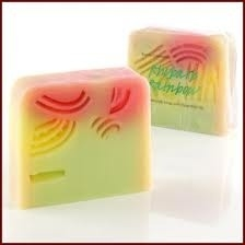 Bomb Cosmetics Rhubarb Rainbow Soap