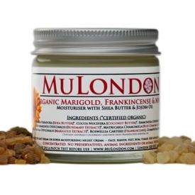MuLondon Organic Marigold, Frankincense & Myrrh Face Moisturiser